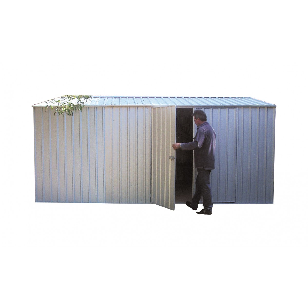 Absco workshop garden shed x 3md x for Garden shed 4 x 2