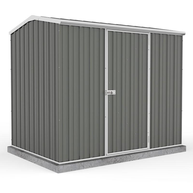Absco Garden Shed 2.26 x 1.52m - Woodland Grey