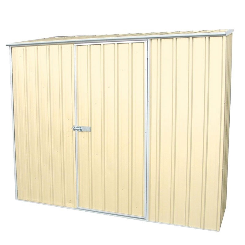 Absco Spacesaver Garden Shed Classic Cream