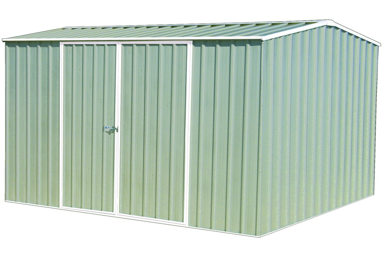 Absco Eco Range 3mW x 2.26mD x 2mH Colorbond Pale Eucalypt