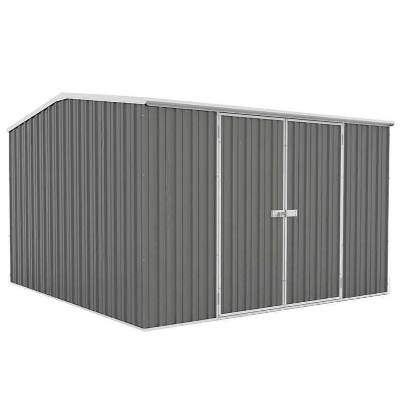 Absco 3x3 Garden Shed - Grey / Woodland Grey