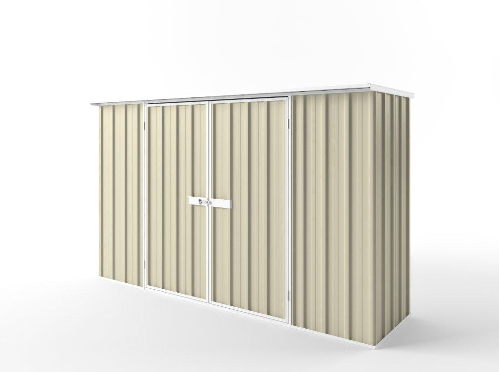EasyShed Garden Shed 3.00m x 0.78m - Smooth Cream