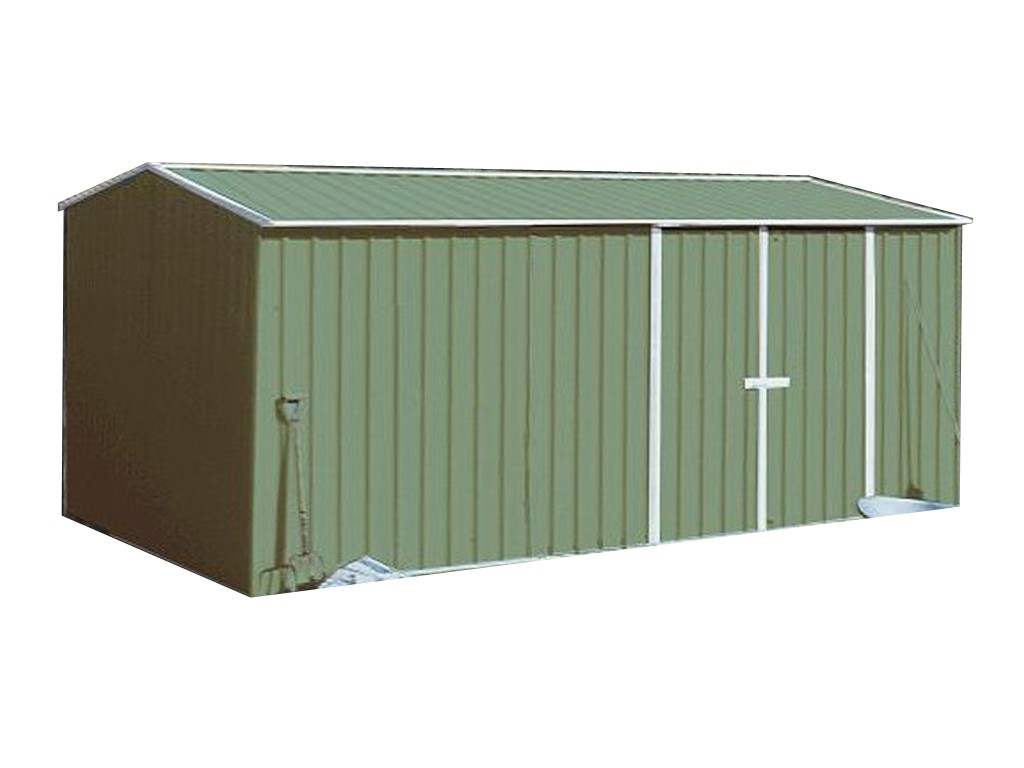 Absco Workshop Garden Shed Pale Eucalypt