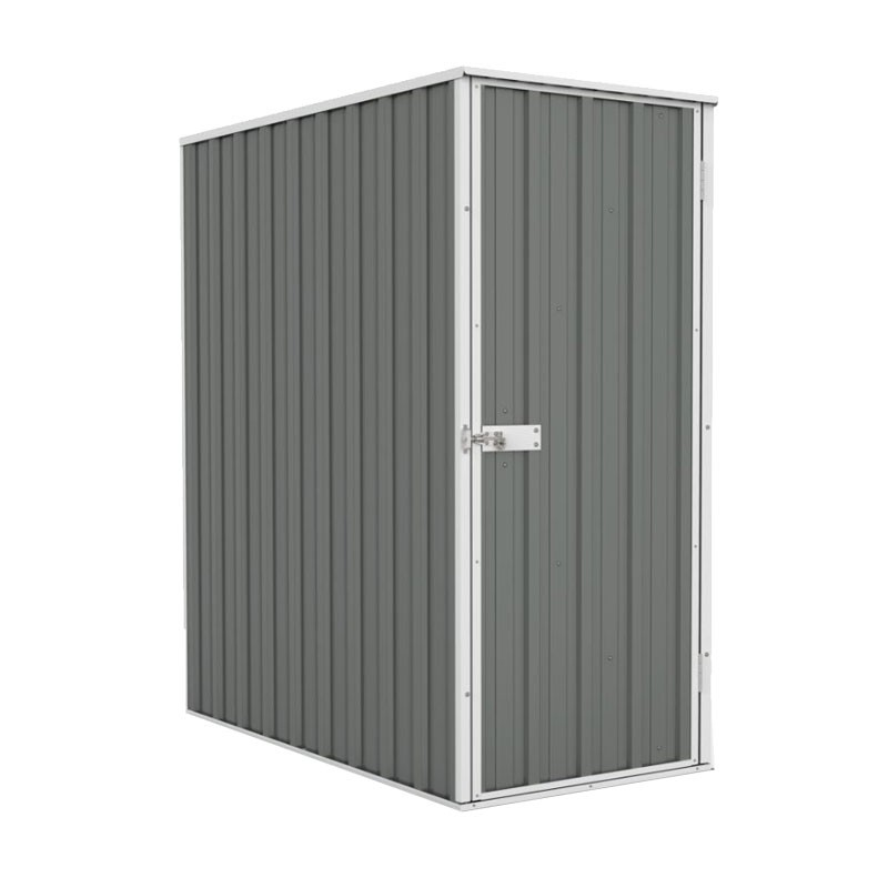 Absco Ezislim Garden Shed Woodland Grey