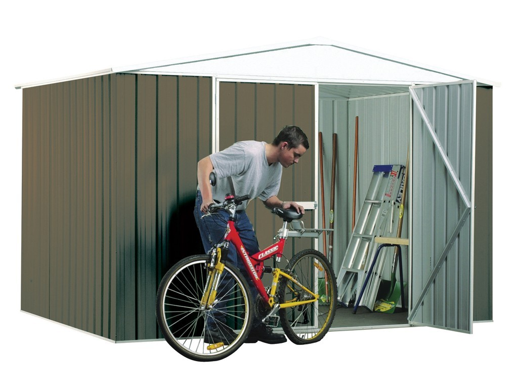 Absco Regent Garden Shed Woodland Grey