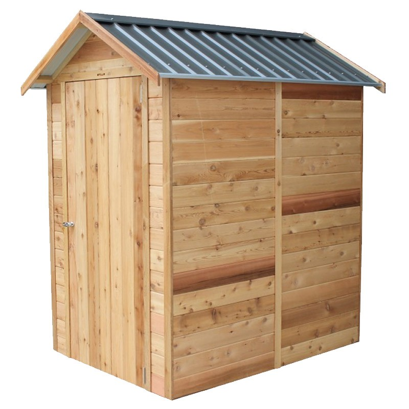 Windsor Timber Shed 1.325mW X 1.84mD X 2.30mH