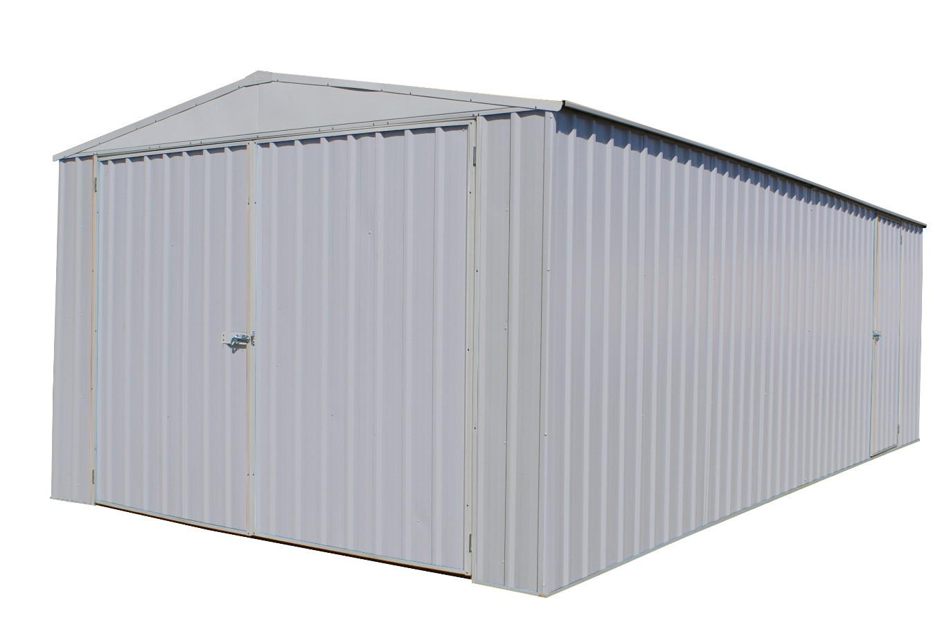 Absco Highlander Garden Shed Zinc
