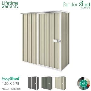 EasyShed 1.50x0.78 Garden Shed