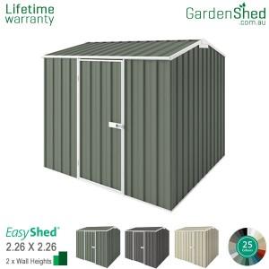 EasyShed 2.26x2.26 Garden Shed - Premier