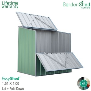 Pool Pump Cover Shed - Pale Eucalypt