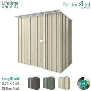EasyShed 2.26x1.50 Garden Shed - Skillion