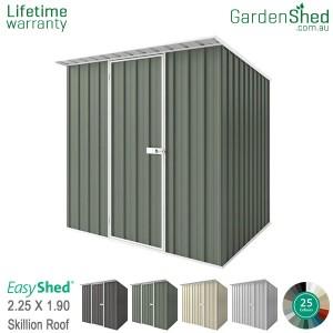 EasyShed 2.26x1.90 Garden Shed - Skillion
