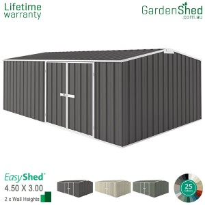 EasyShed Workshop4.5m x 3.00mGable (triangle)
