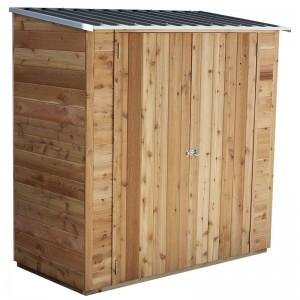 Timber Cedar Shed - Birch - 1.93 x 0.94