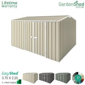 EasyShed 3.75x2.26 Garden Shed - Premier