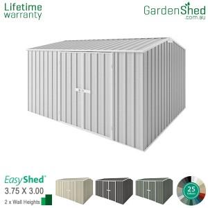 EasyShed 3.75x3.00 Garden Shed - Premier