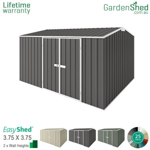 EasyShed 3.75x3.75 Garden Shed - Premier