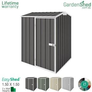 EasyShed 1.50x1.50 Garden Shed - Premier