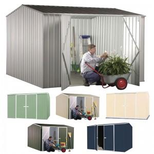 Garden Shed<br /> 3m x 2.26m - Premier Double Door