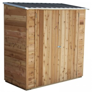 Birch Timber Shed 6x3<br /> 1.93mW X 0.94mD X 1.94mH