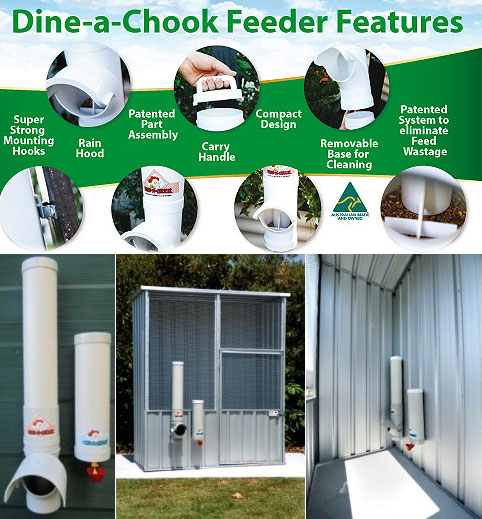 Aviary Dine-A-Chook Chook Feeder