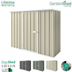 EasyShed 2.26x0.78 Garden Shed