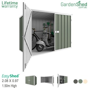 EasyShed 2.10x0.97 Garden Shed - Spacesaver