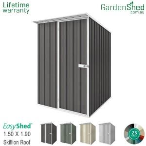 EasyShed 1.50x1.90 Garden Shed - Skillion