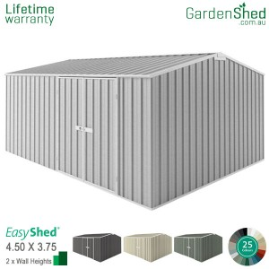 EasyShed 4.5x3.75 Garden Shed - Workshop
