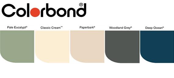 Shed Colorbond Colour Options