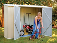 SpaceSaver Garden Shed